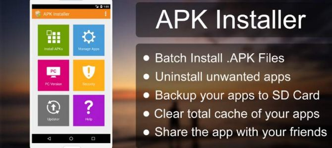 come installare file apk su android