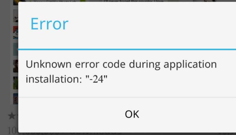 errori play store android